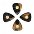 Sun Tones Malay Ebony 4 Guitar Picks